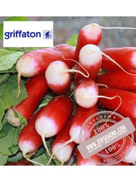 Французский Завтрак (French Breakfast) семена редиса Griffaton, оригинальная упаковка (500 грамм)