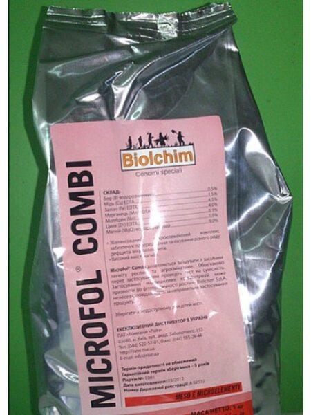 Микроудобрение Микрофол Комби - 10 кг (Biolchim, Італия)